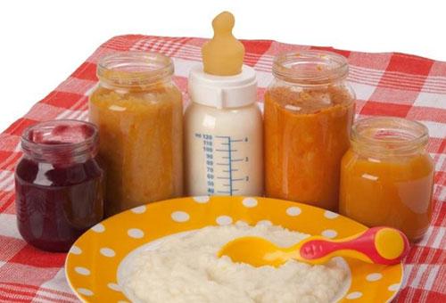 Продукты для прикорма ребенка