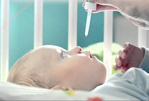 Лечение ребенка от насморка