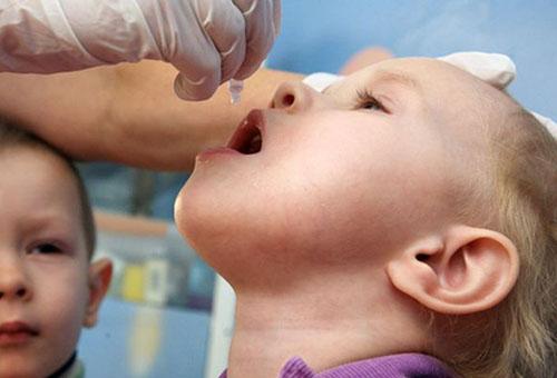 Вакцинация от полиомиелита