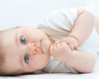 Голубоглазый младенец