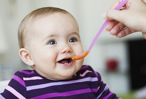 Кормление ребенка 6 месяцев