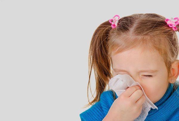 Заложен нос у девочки