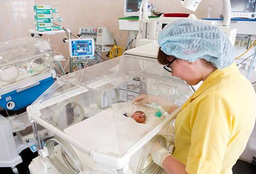 Уход за недоношенным младенцем в стационаре