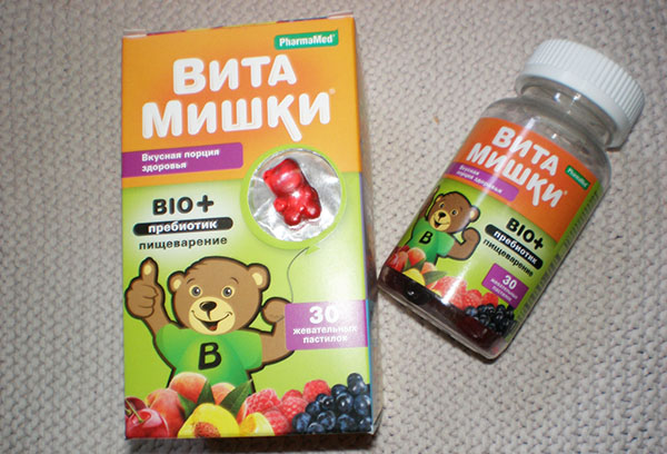 "Витамины ""ВитаМишки"""