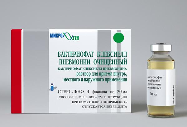 Бактериофаг клебсиелл