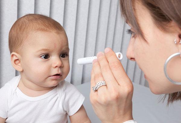 Тренировка глаз ребенка