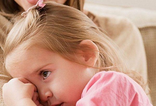 Двухлетняя девочка