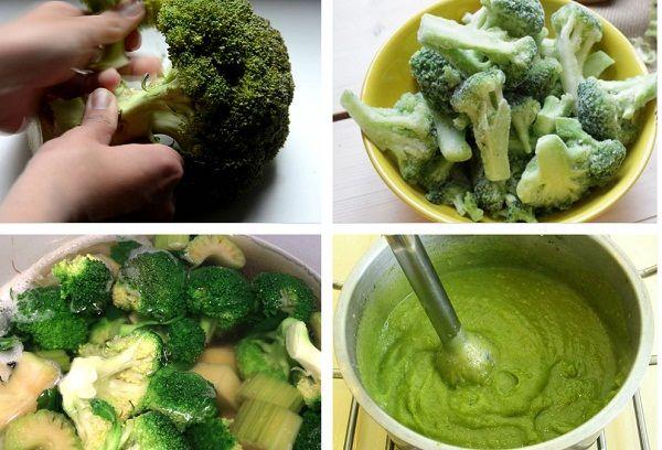 Пюре из брокколи для грудничка – рецепт приготовления однокомпонентного и сложного блюда