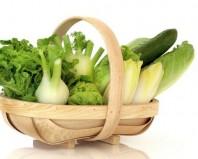 Овощи в корзиночке