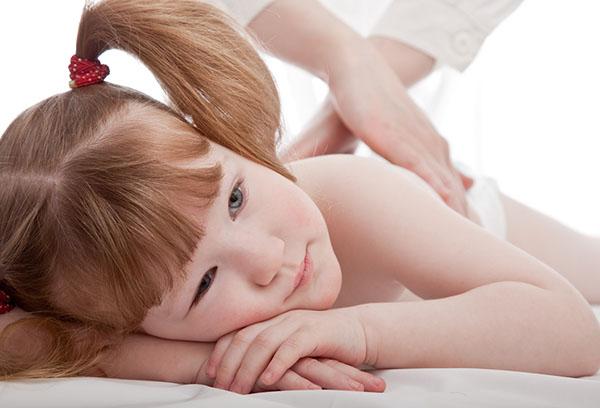 Лечебный массаж ребенку