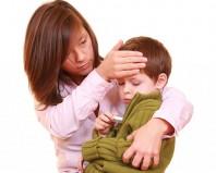 Озноб и температура у ребенка