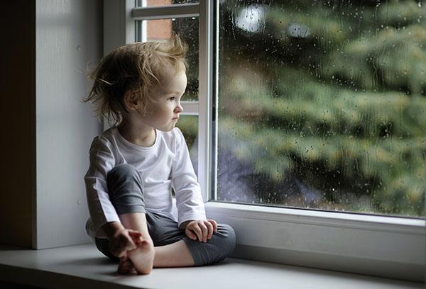 Пасмурно за окном