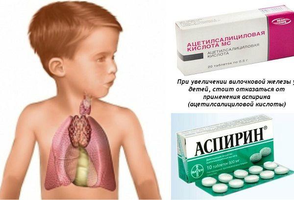 Вилочковая железа у детей – симптомы увеличения и методы лечения