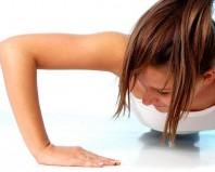 упражнение отжимания