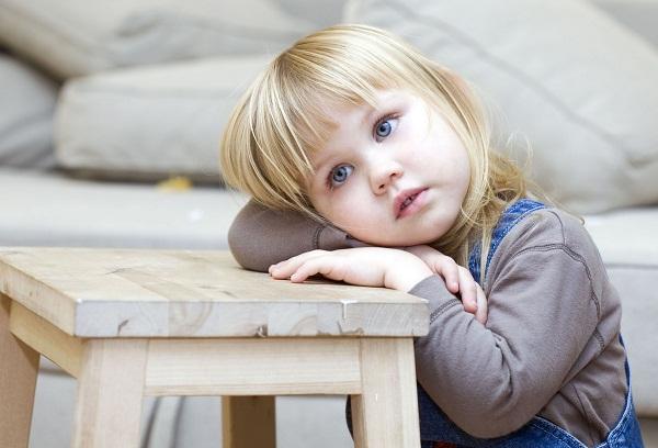 белокурая девочка