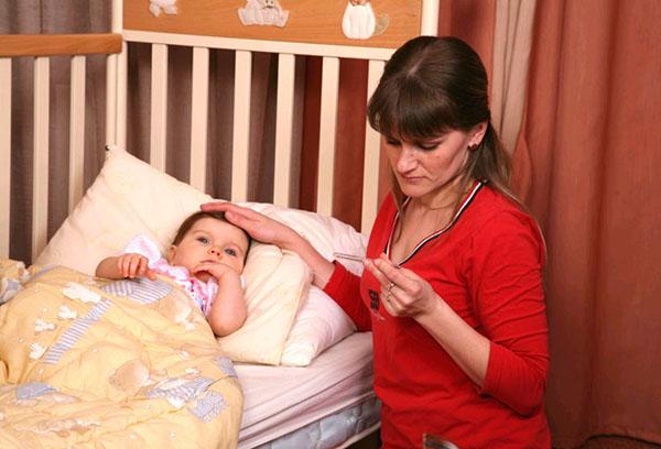 Ребенок заболел ОРВИ
