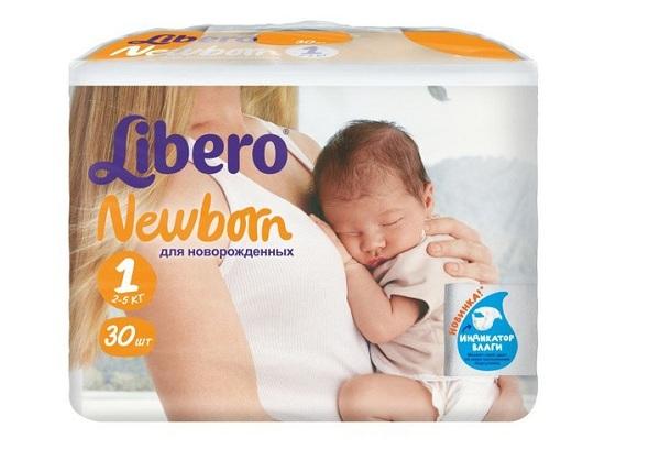 Подгузники Libero Newborn