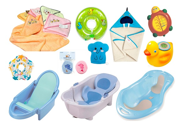 вещи для купания ребенка