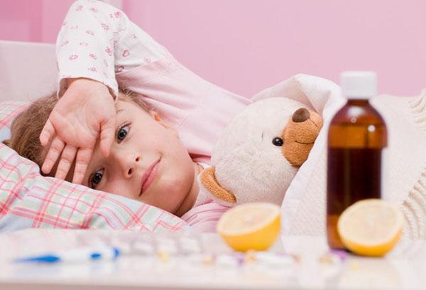 Постельный режим для ребенка при ОРВИ