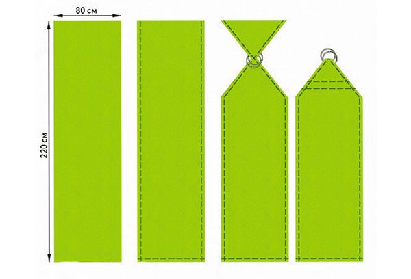 Слинг своими руками – из чего и как шить?