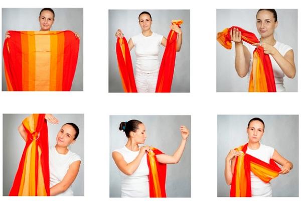 инструкция по надеванию слинга