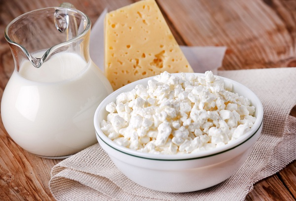 молоко сыр и творог