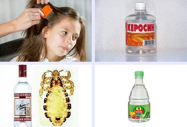 керосин водка уксус
