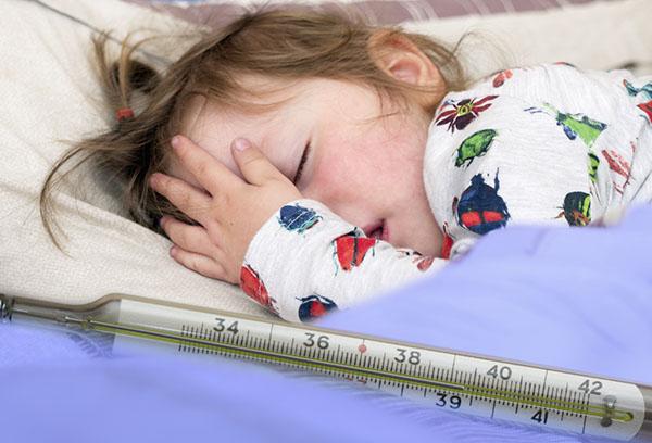Судорога у ребенка при высокой температуре