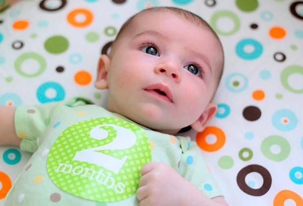 2 месяца малышу