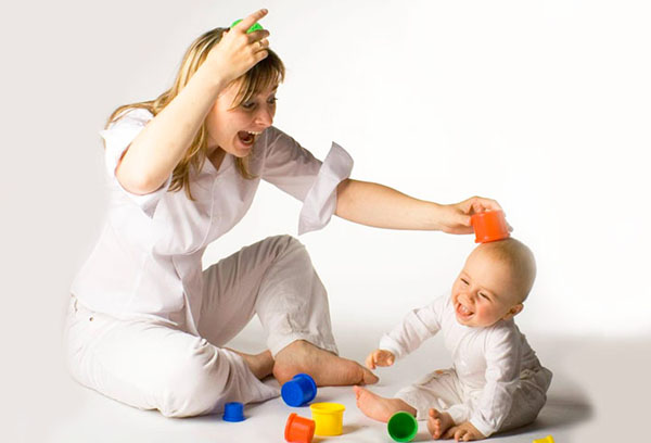 Веселые игры с ребенком 9 месяцев