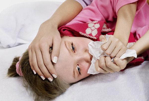 Симптомы туберкулеза у девочки