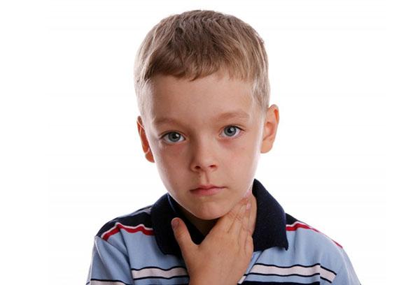 Воспаленные лимфоузлы на шее у ребенка