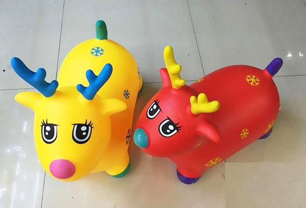 Резиновые игрушки прыгуны для детей