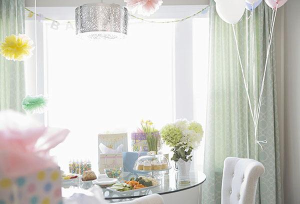 Оформление квартиры ко встрече жены из роддома