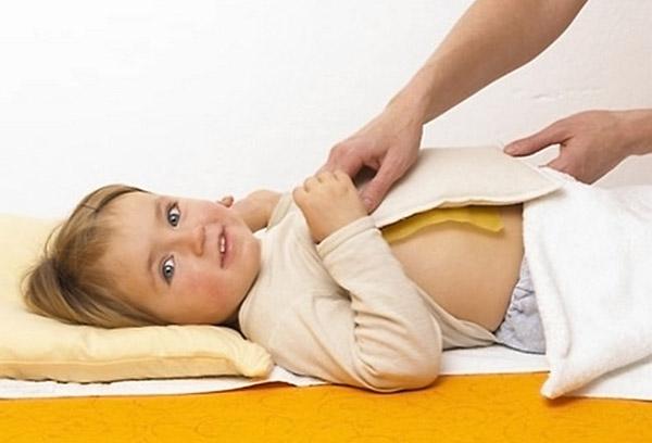 Компресс ребенку от кашля