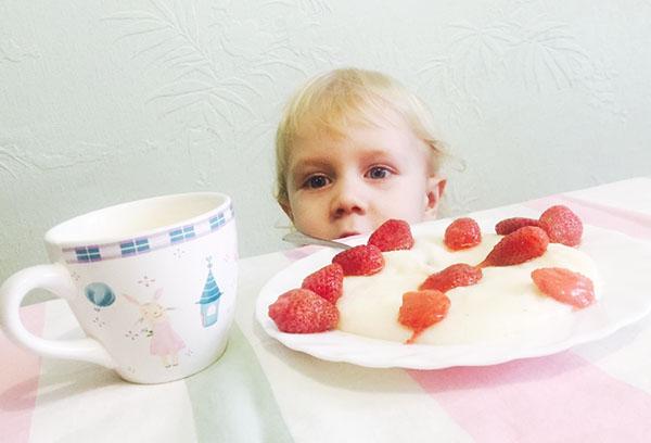 Ребенок хочет кушать