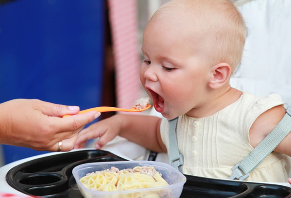 Обед годовалого ребенка