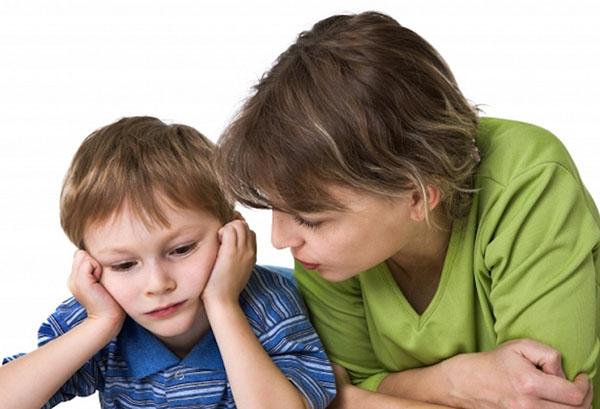 Разговор с расстроенным сыном