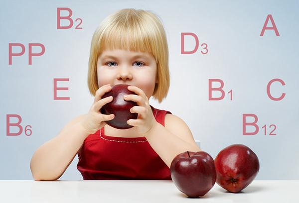 Витамины, необходимые ребенку
