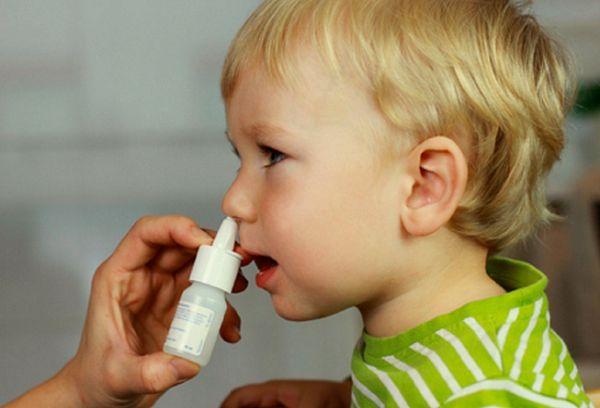применение каплей для нос для детей