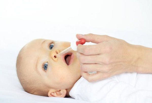Промывание носа грудничку