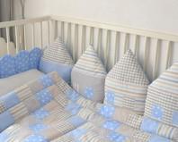 Бортики в детской кроватке