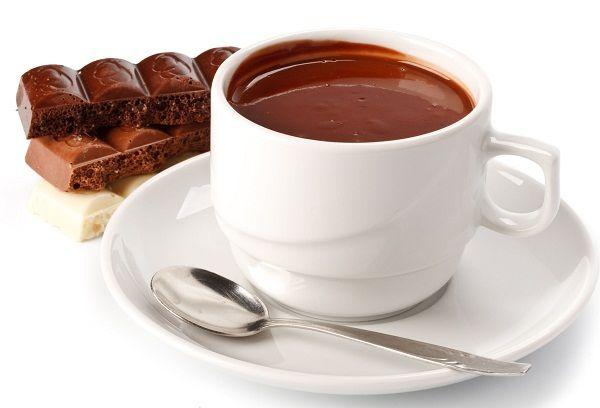 Чашка с какао
