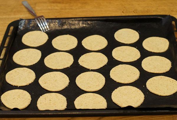 Приготовление диетического печенья