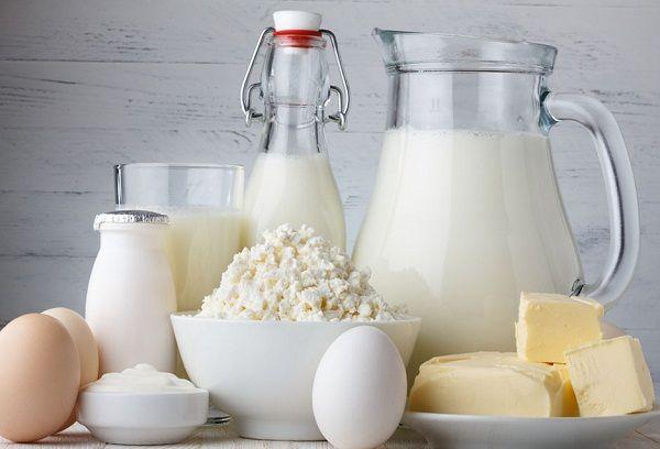 Молоко творог сыр и яйцо