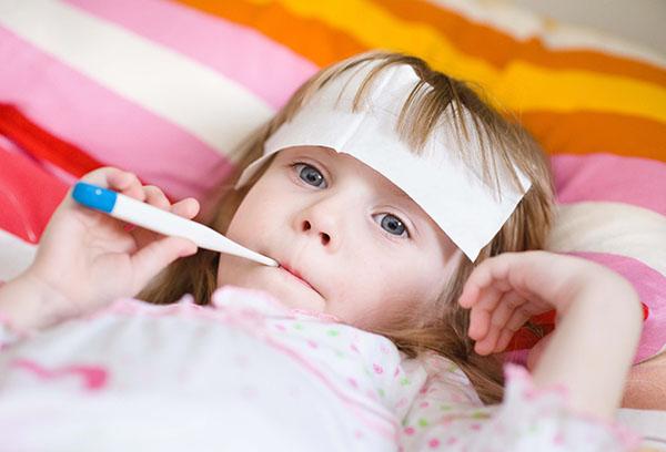 Бледная лихорадка у ребенка