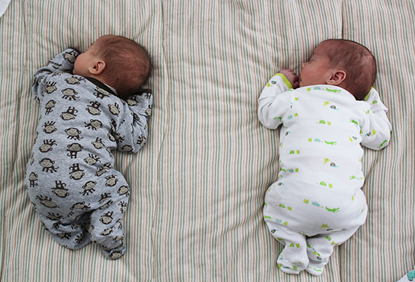 Спящие малыши