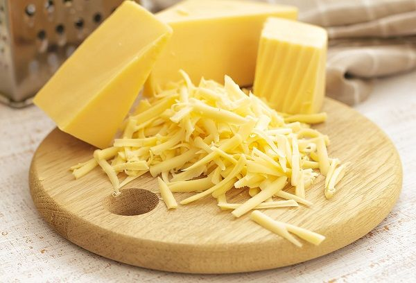 натертый твердый сыр