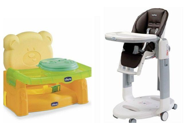 Детский стульчик трансформер и бустер