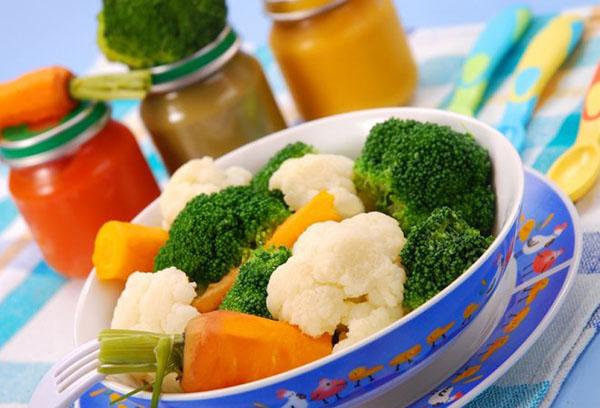 Овощи и овощное пюре